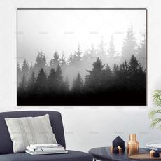 landscapecanvasprint, Decor, Modern, homeampoffice