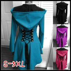Blues, Slimwaist, hooded, Medieval