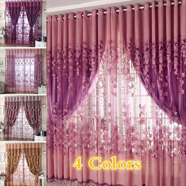 curtaindecor, homedecorcurtainsforlivingroom, Fashion, Floral print