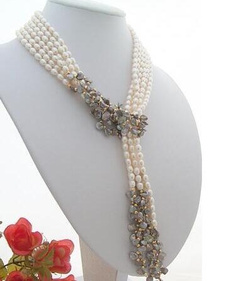 Necklace, pearls, Jewelry, pearl necklace