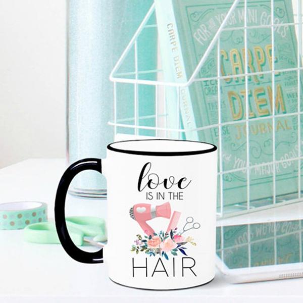 drinkbarwaredrinkware, hairdressermug, Love, giftforstylist