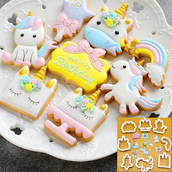 Cookie Cutter Set Various Shape Baking Tools Biscuits Fondant DIY Cake Decor