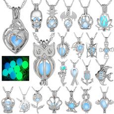 trendy necklace, fluorescentnecklace, Chain Necklace, punk necklace