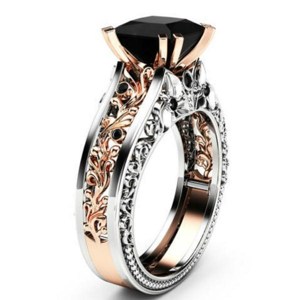 Sterling, DIAMOND, Rose, Wedding Accessories