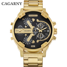 Steel, Bracelet, Fashion, Casual Watches