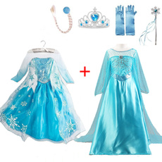 Blues, elsa dress, Cosplay, Lace