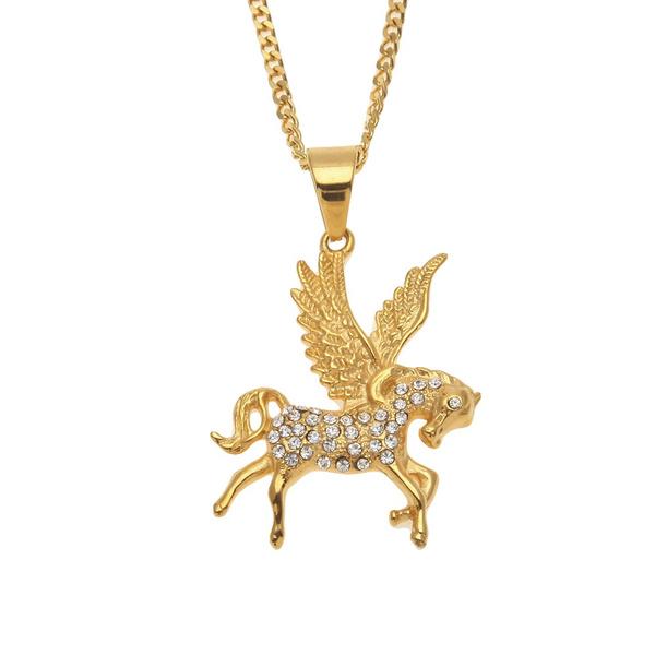 pegasuspendantnecklace, mythologypendantnecklace, horse, Fashion