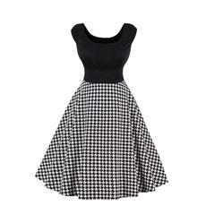 Swing dress, Plus Size, Necks, 50s style dresses