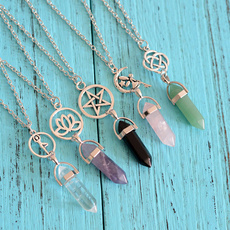 Turquoise, quartz, Gemstone, quartzpendant