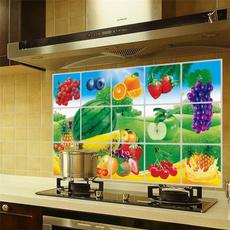 waterproofoilproofkitchen, Kitchen & Dining, wallpapersticker, kitchenoilsticker