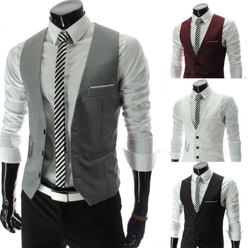 Vest, Fashion, England, slim