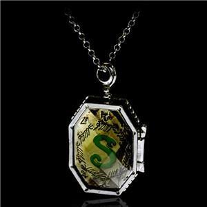 Box, Jewelry, charmhphorcruxlocketglassboxlocketnecklace, Hp