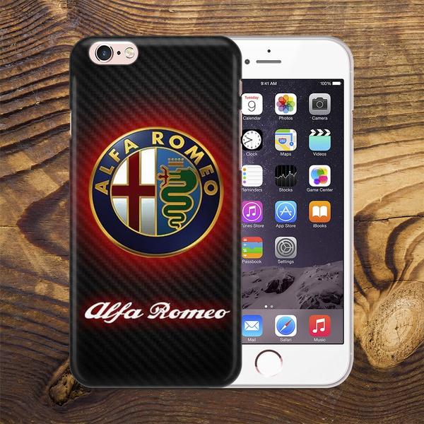 Alfa Romeo Printed Cell Phone Case For IPhone 5 5C 5S 6 6S 6Plus 6SPlus 7 7Plus SE 8 8Plus/Samsung Galaxy S5 S6 S6 Edge S7 S7 Edge Note3 Note4 Note5 ...