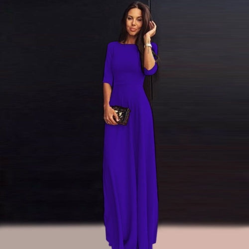 gowns, 34sleeve, chiffon, chiffon dress