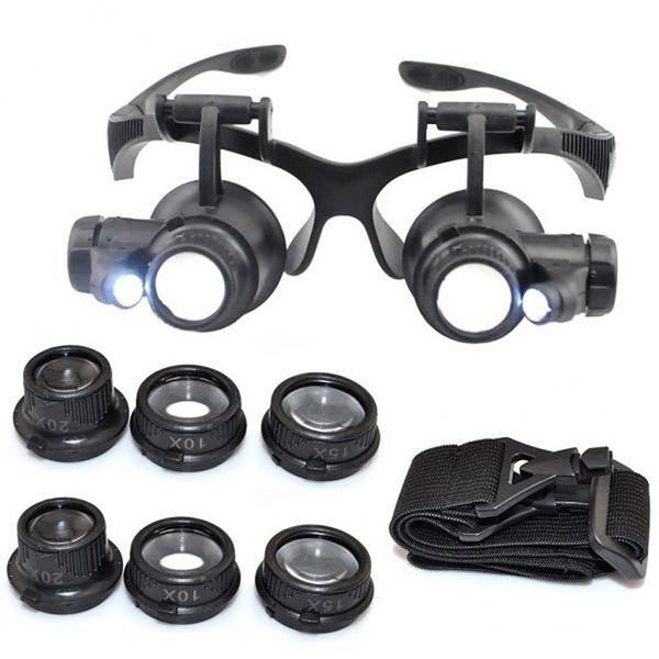 magnifyingglas, magnifyingeyeglas, lights, Loupes