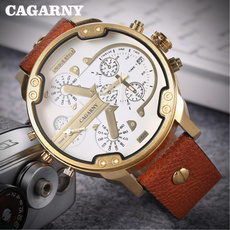 case, golden, quartz, fashion watches