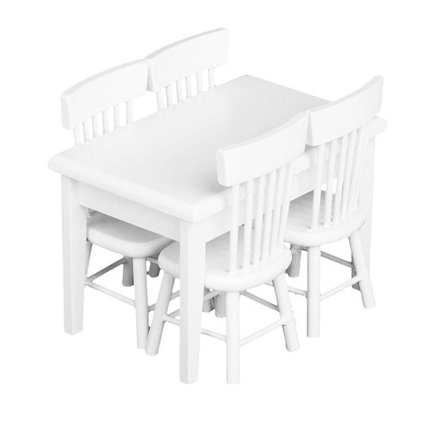 Living Room Furniture, Dollhouse, Home & Living, kidstableschair