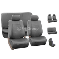 Gray, autoseatcover, carcover, leather