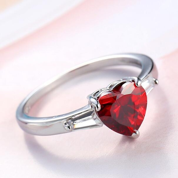 Sterling, Heart, Engagement, 925 sterling silver