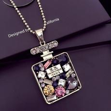 Chain Necklace, Diamond Necklace, Jewelry, Chain