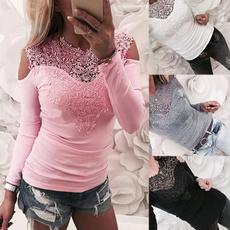 blouse, Slim Fit, Shirt, Sleeve