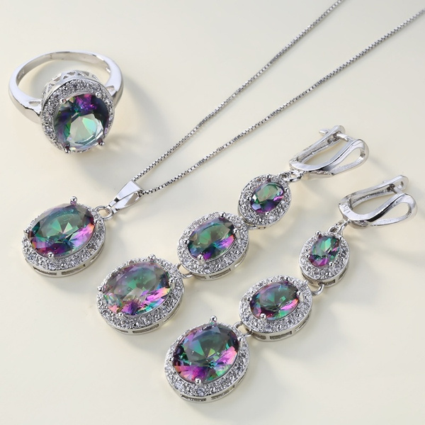 Sterling, rainbow, Jewelry, Gifts