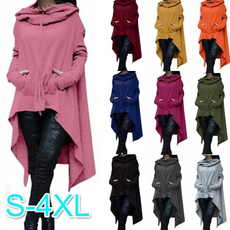 hooded, womens coats, Sleeve, womens pullovers