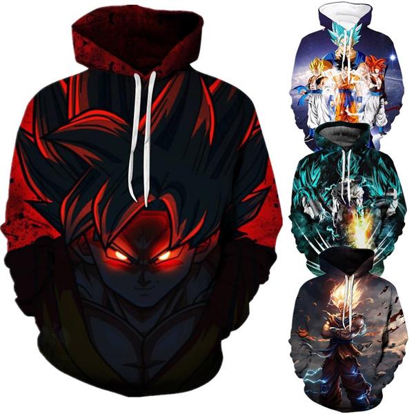 3D hoodies, anime hoodie, hooded, Sleeve