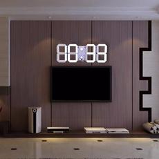 led, Home Decor, thermometerclock, Clock
