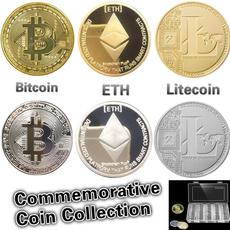 coinscollection, litecoin, ethereumcoin, commemorativecoinstoragebox