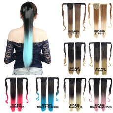 wig, syntheticfiberhairpiece, Fashion, multicolorfiberhair