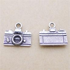 Antique, Jewelry, alloycharm, Camera