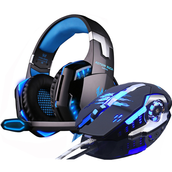 led, headphonemouse, gamingheadset, Headphones