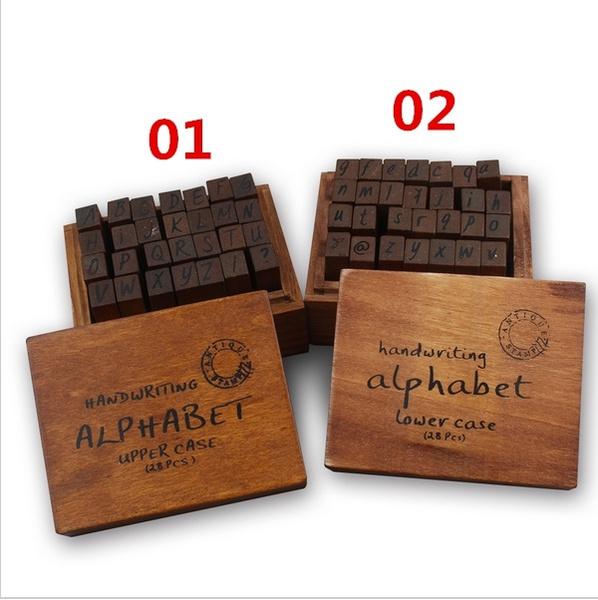 case, Box, lowercasestamp, Wooden