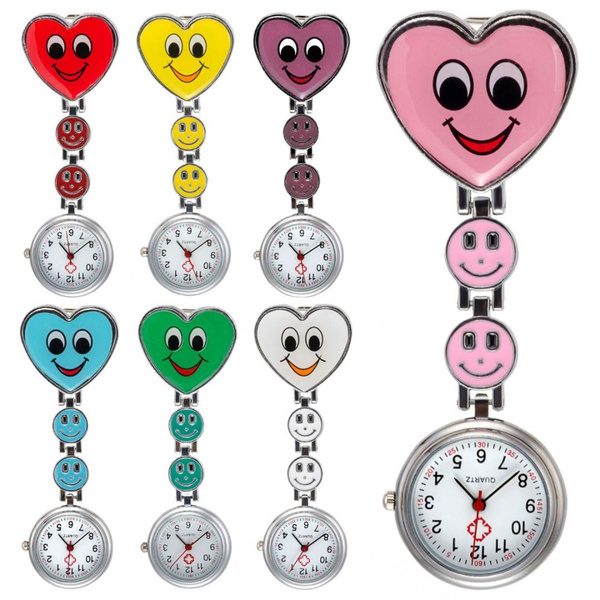 womennursewatch, dial, broochfobwatch, Jewelry
