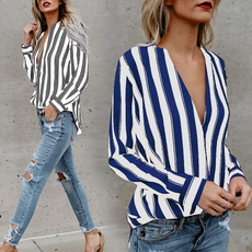 blouse, Summer, long sleeve blouse, Sexy Top