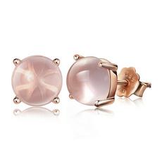 quartz, Stud, gold, Stud Earring