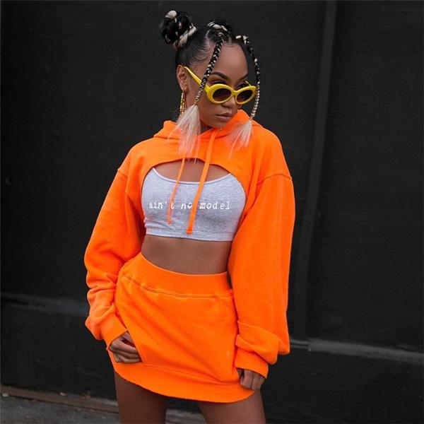 Fashion, crop top, Women's Fashion, Hoodies