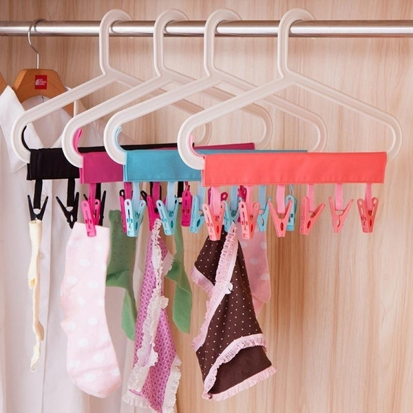 Foldable, clothespinsset, Bathroom Accessories, Towels