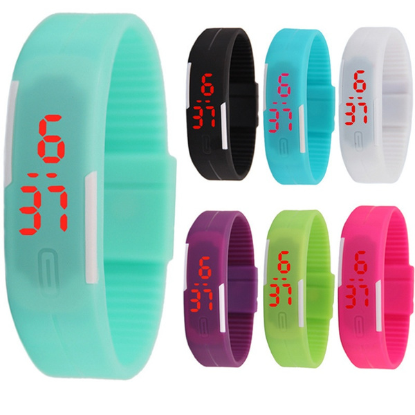 LED Watch, kidswatch, dial, led