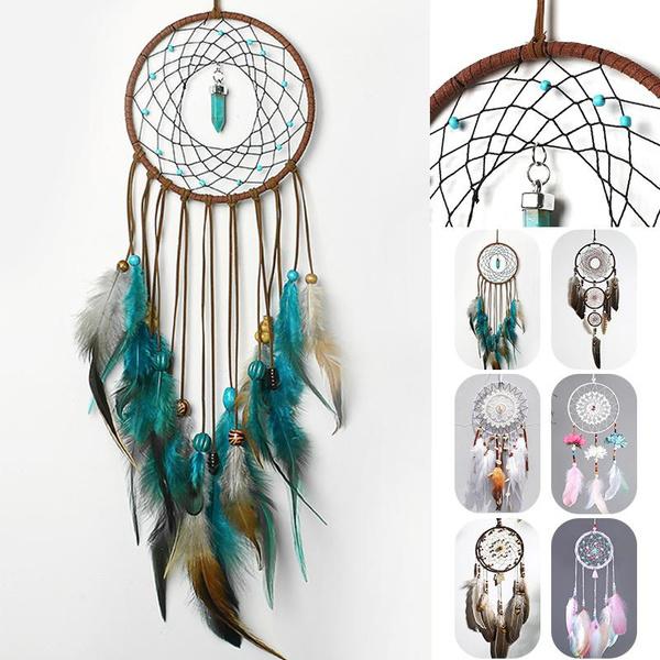 indiancraft, diydreamcatcher, Dreamcatcher, Home & Living