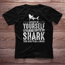 Tops & Tees, Shark, sharkfunny, Shirt