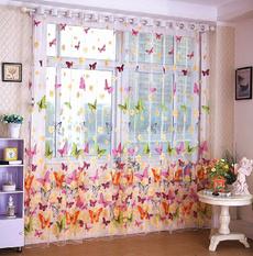 butterfly, living, Sheer, room