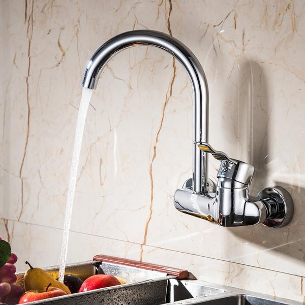 Brass, swivel, touchonkitchensinkfaucet, Kitchen & Dining