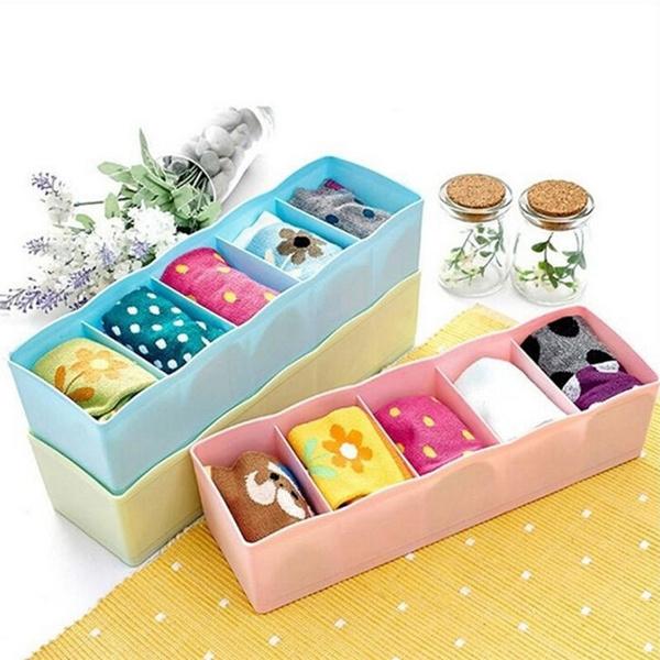 Box, Container, Socks, Storage