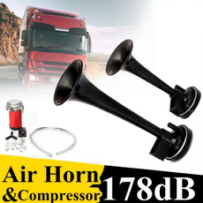 automotivehorn, dualtrumpet, Cars, aircompressor