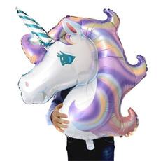 unicornparty, rainbow, Toy, foilballoon