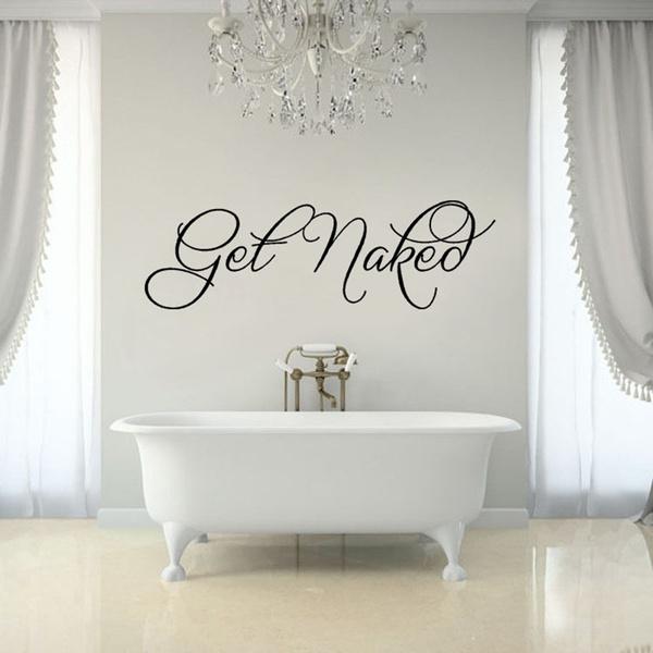Stickers, Decor, bathroomsticker, Get