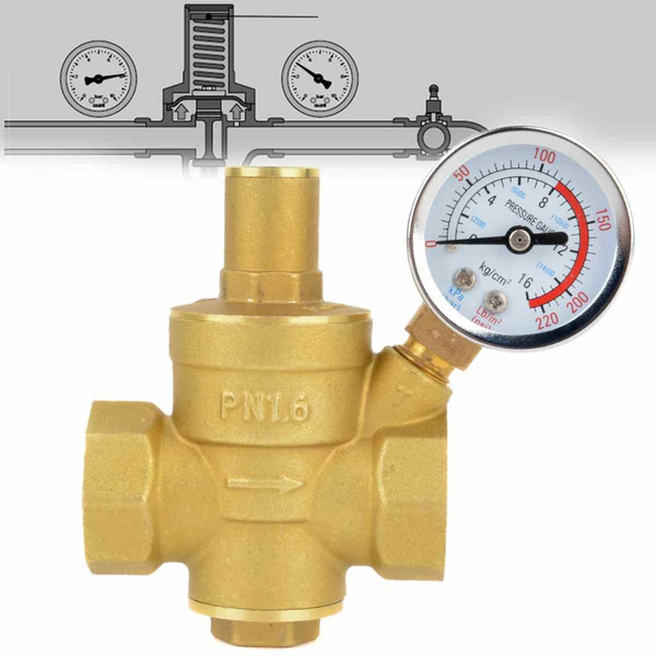 Brass, Copper, reducingvalve, Business & Industrial