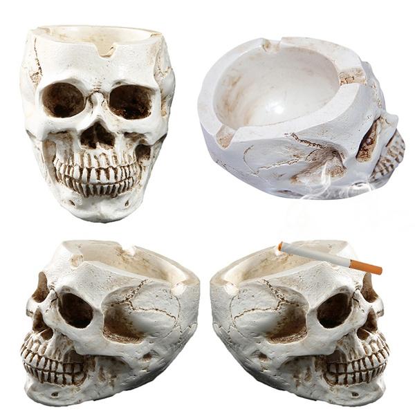 skullashtray, Plants, Skeleton, skull